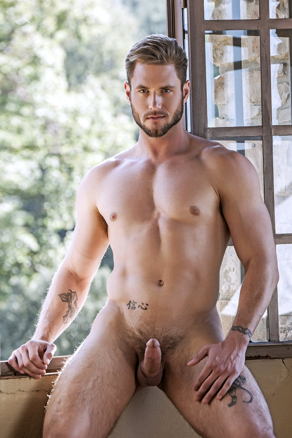 Hot and hairy naked men