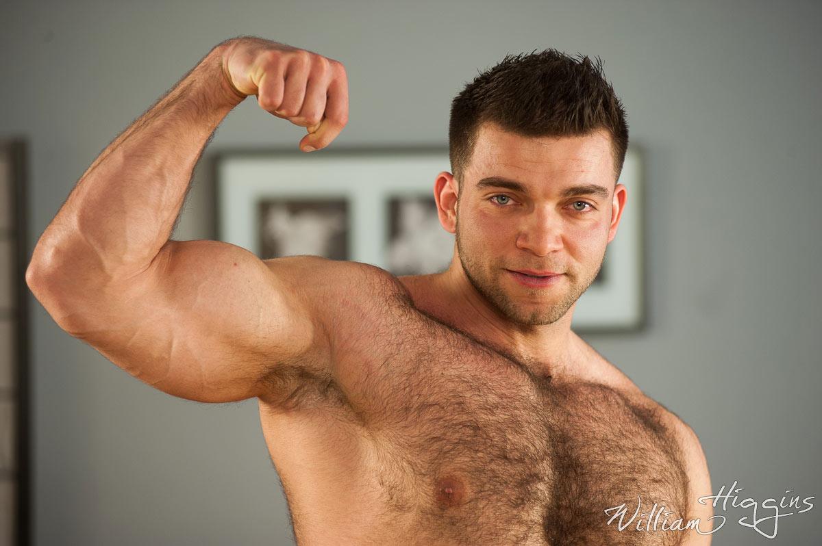 Insanely Hairy Czech Stud Adam Sedak WilliamHiggins