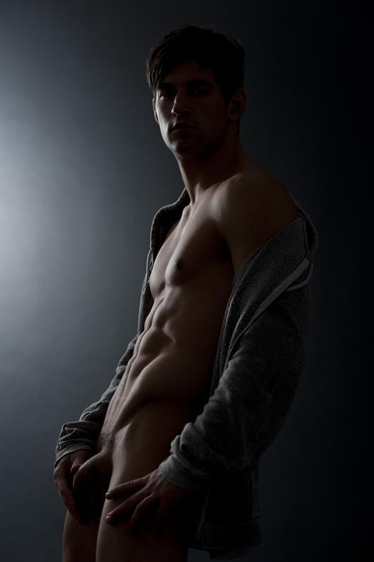 full frontal nude men gay [Male Models] Benjamin Godfre