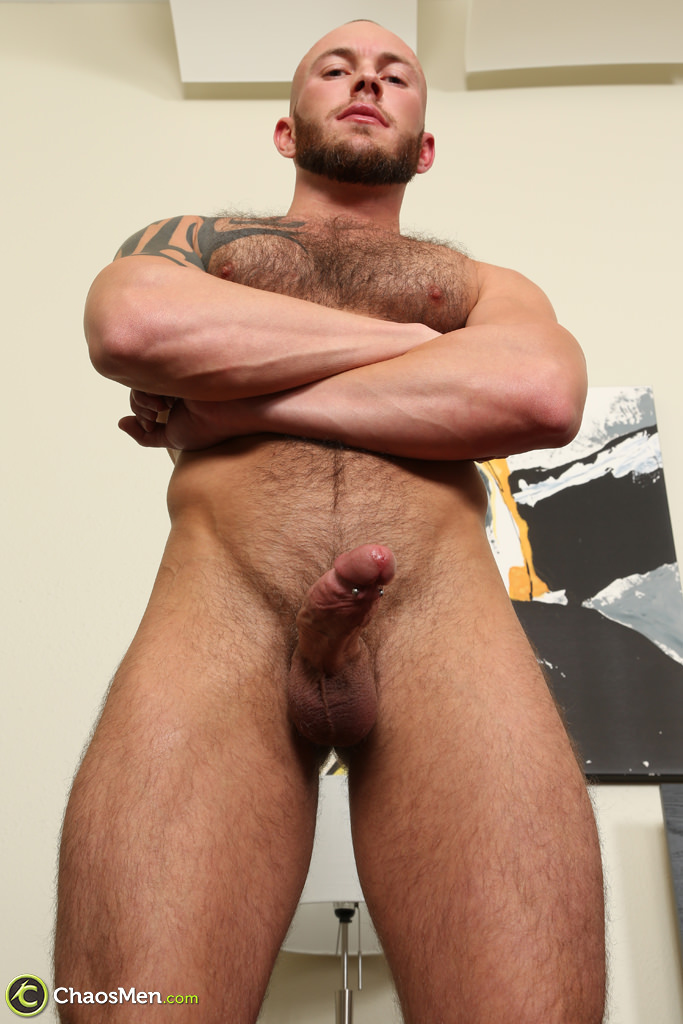 naked shemale stroking