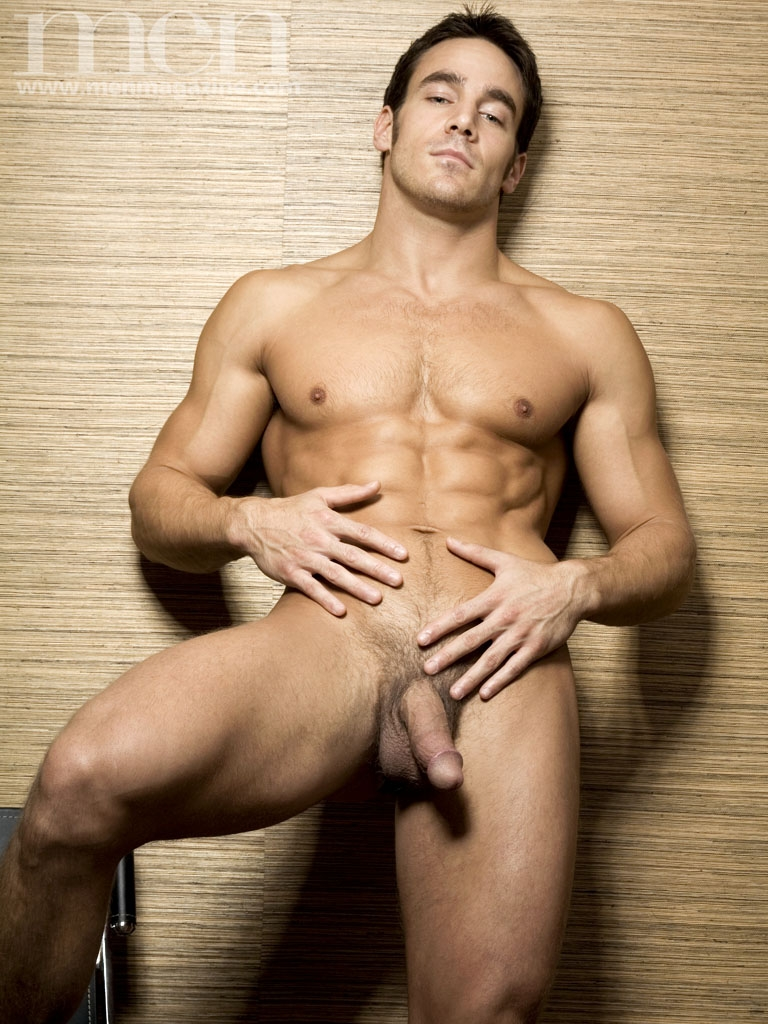 Men magazine male nude models