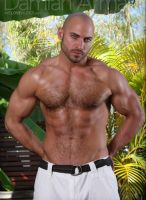 model Damian Armani legendmen
