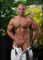 nude naked model Damian Armani