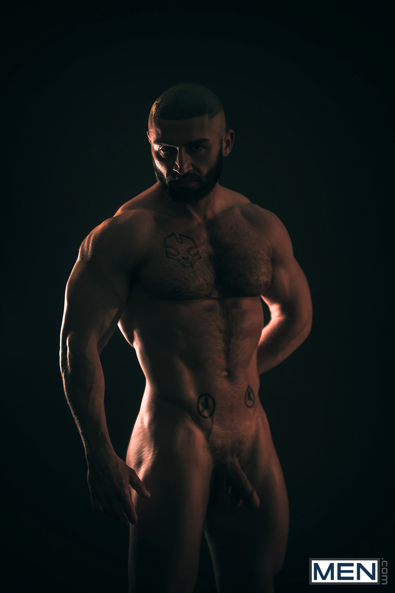 Francois sagat and more muscular men pissing 2