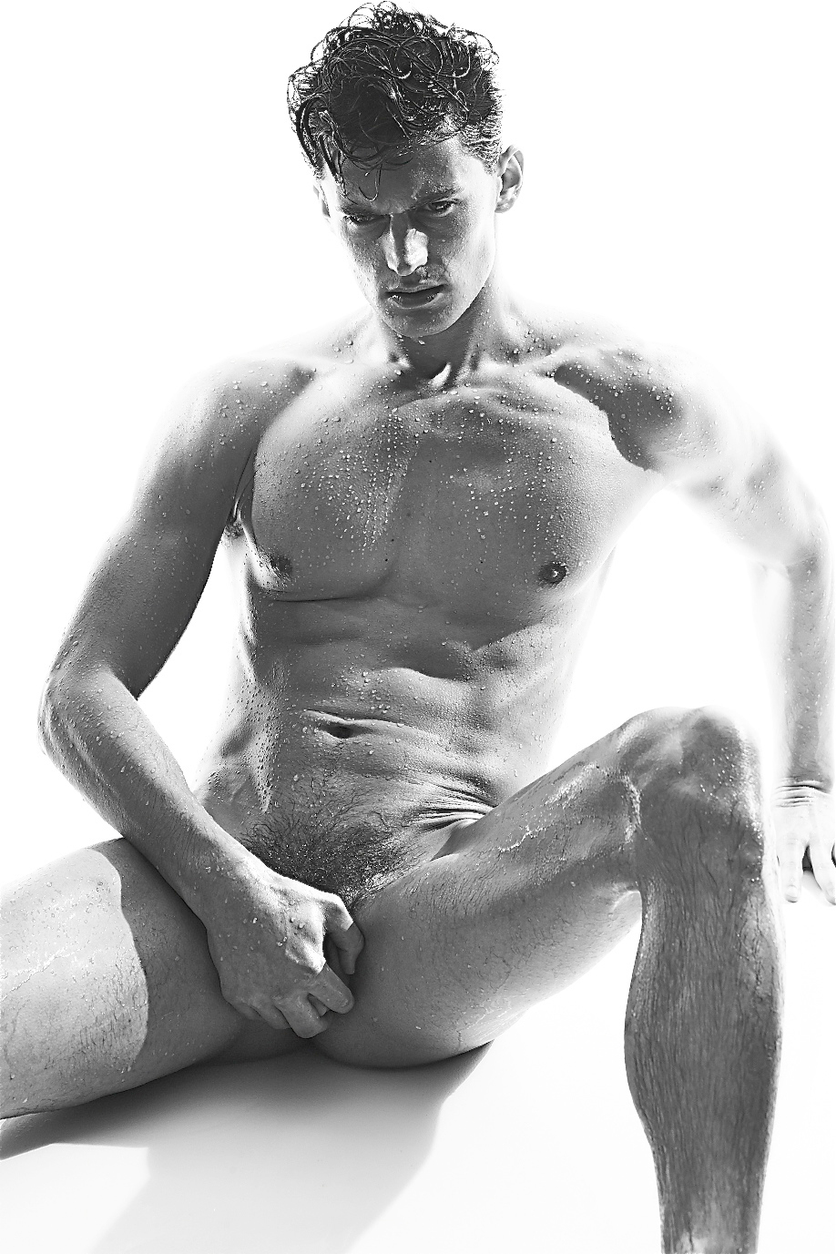 Charming Garrett neff male model nude