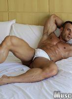 Gianluigi Volti  pose bed