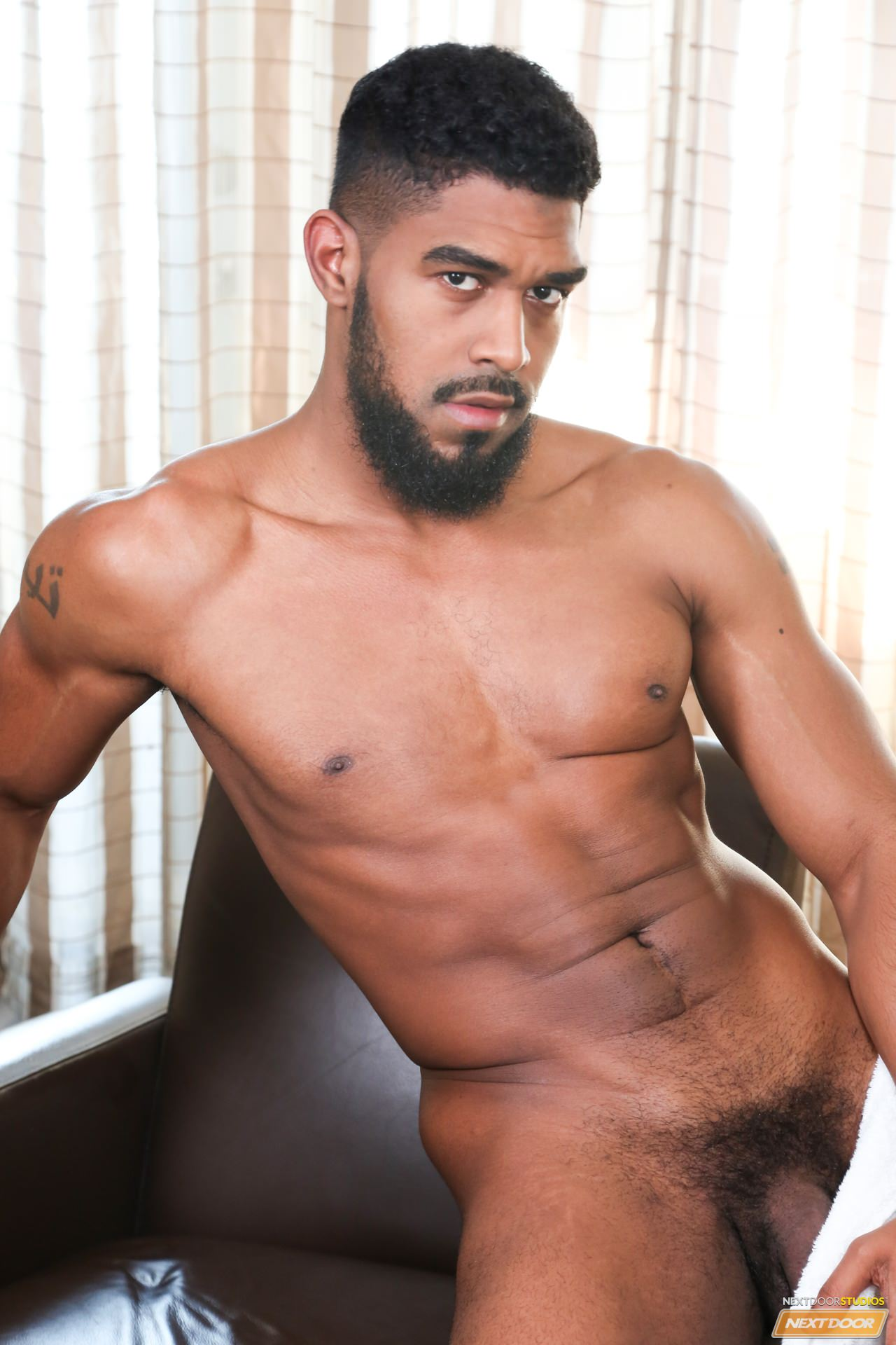 Gay black nude love