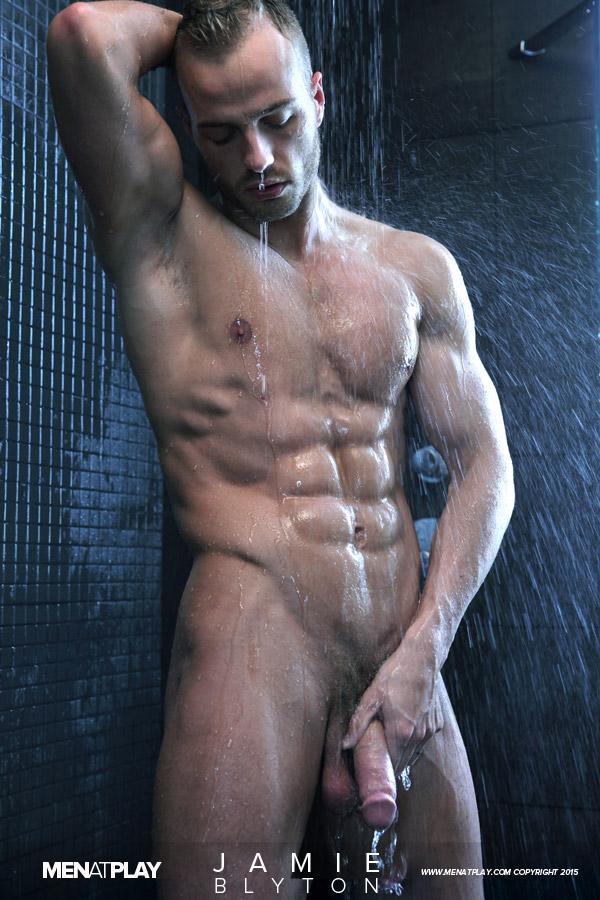Nude male model shower opinion