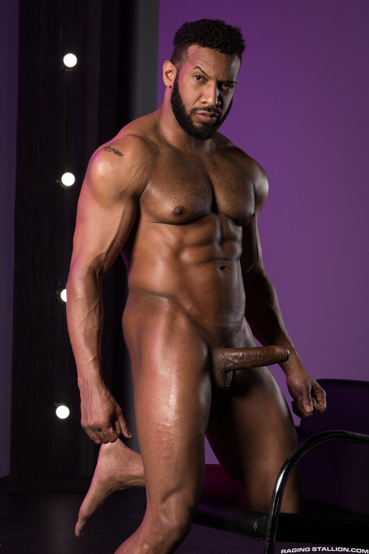 Hunk black gay