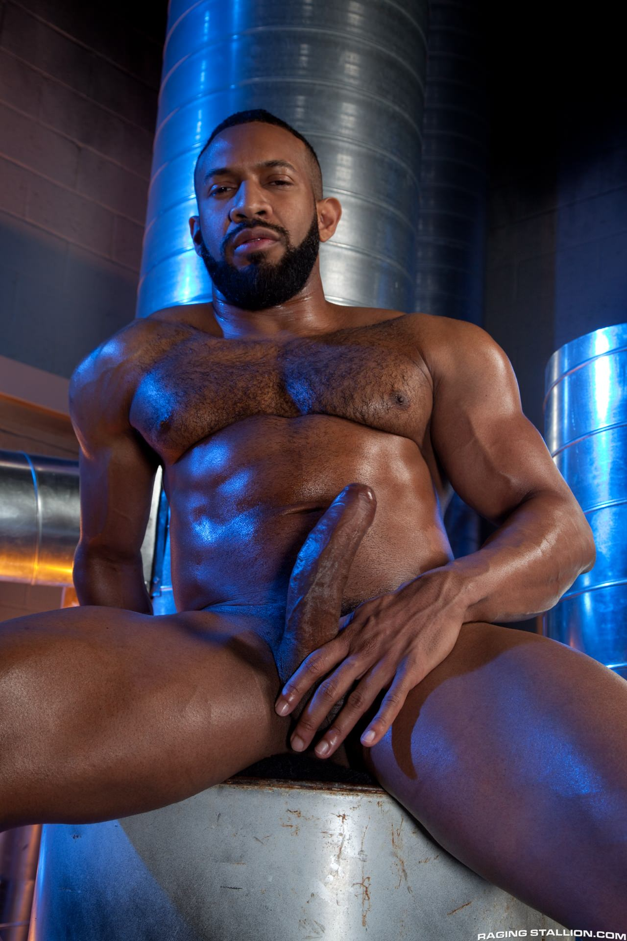 Hunk black gay