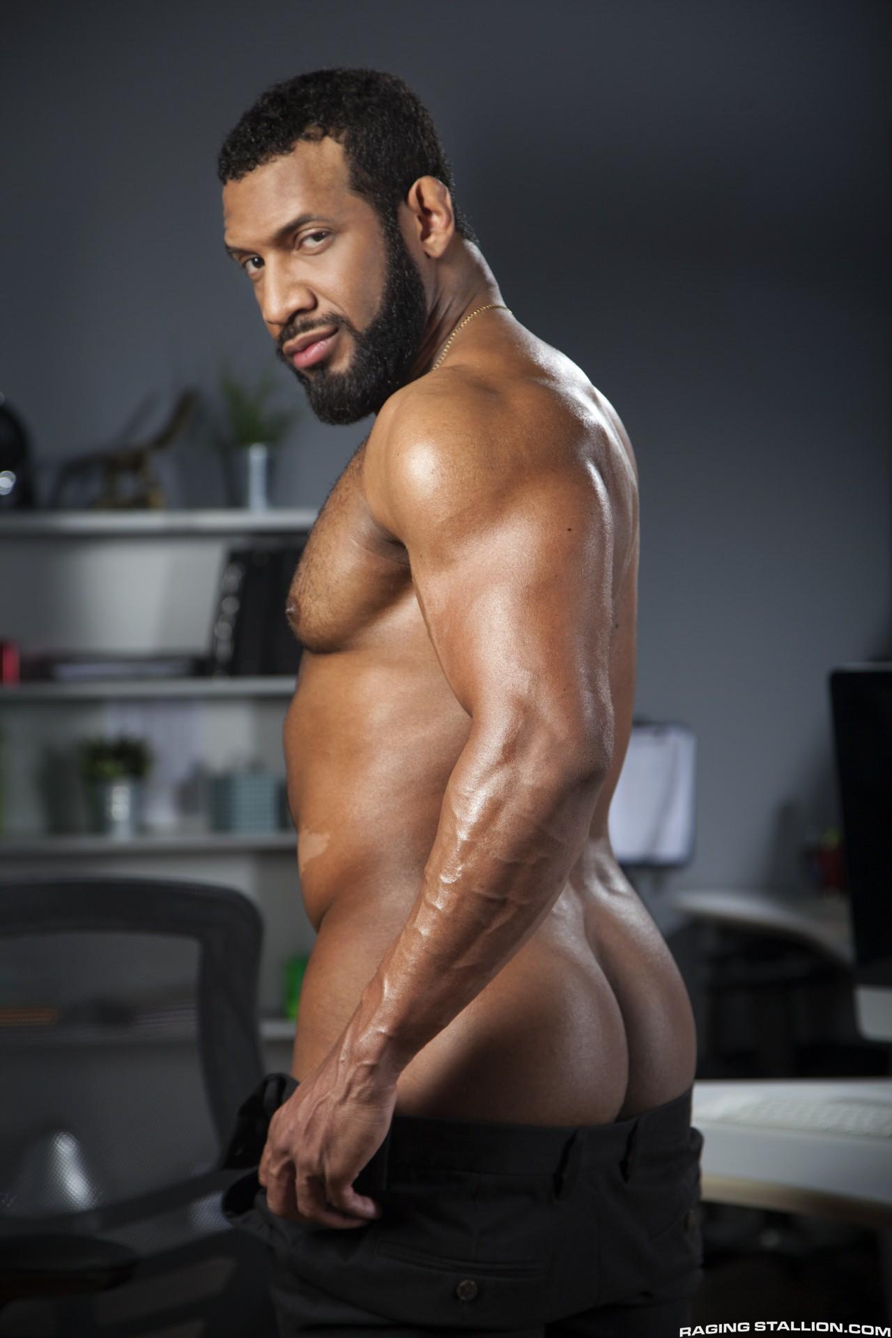Black gay porn hunk