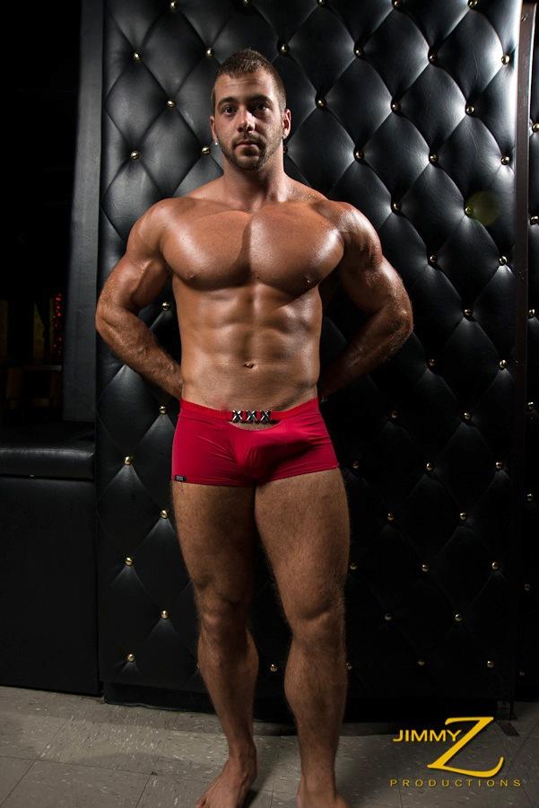 gay man stripping in bar