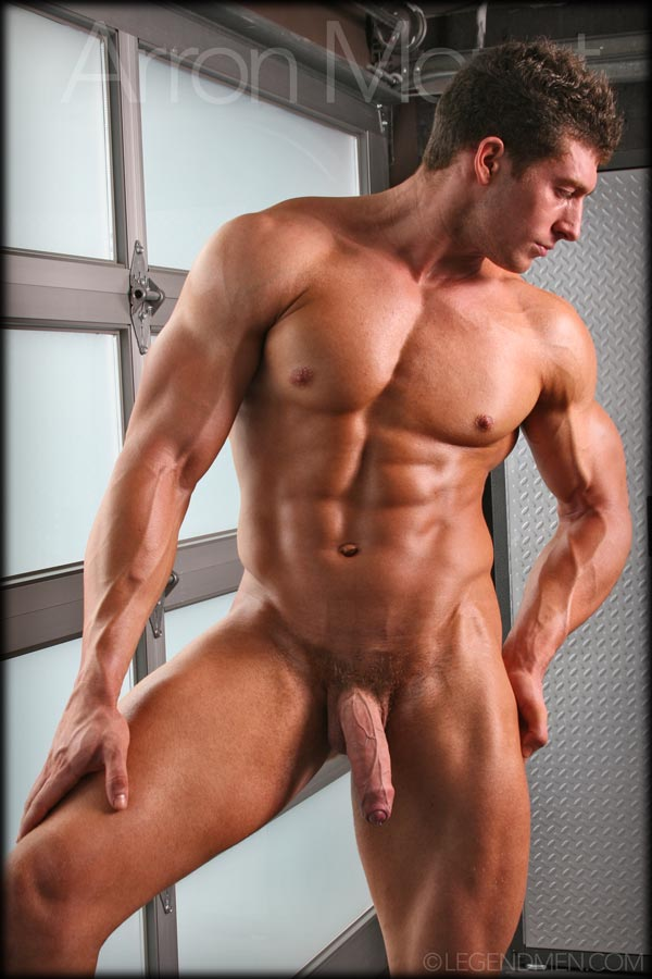 Naked male muscle