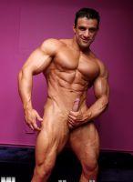 muscular macho nacho