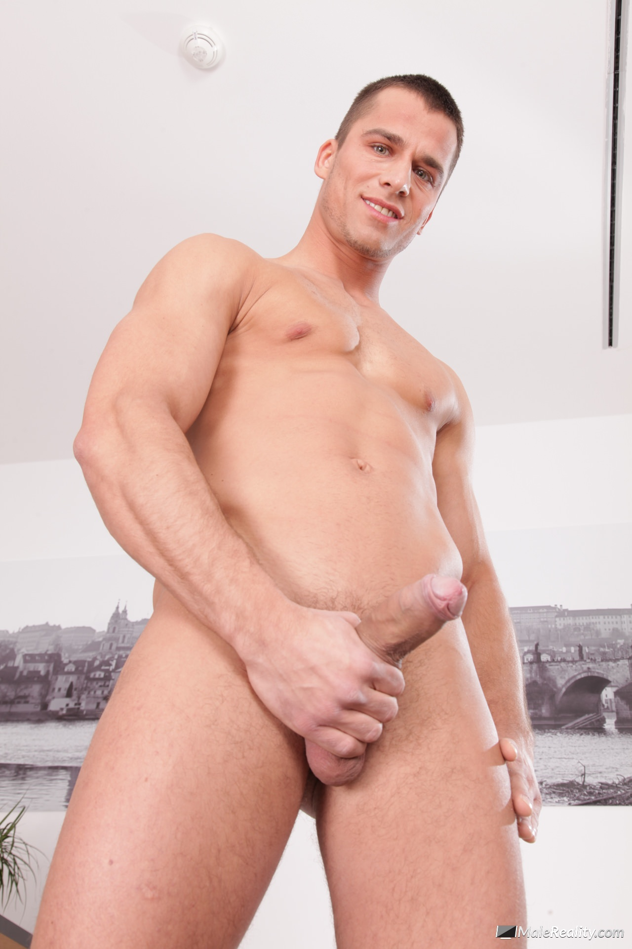 Athletic hunk commanded to suck and fuck 10