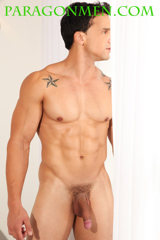 naked brunette male models