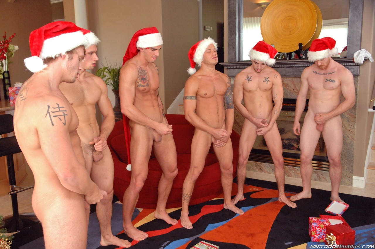 Christmas group porn