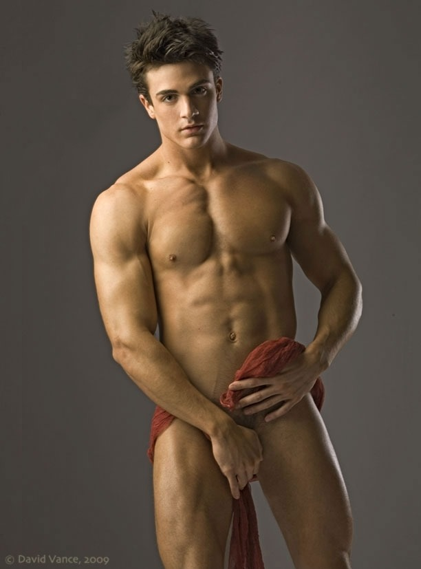 male Philip model nude fusco
