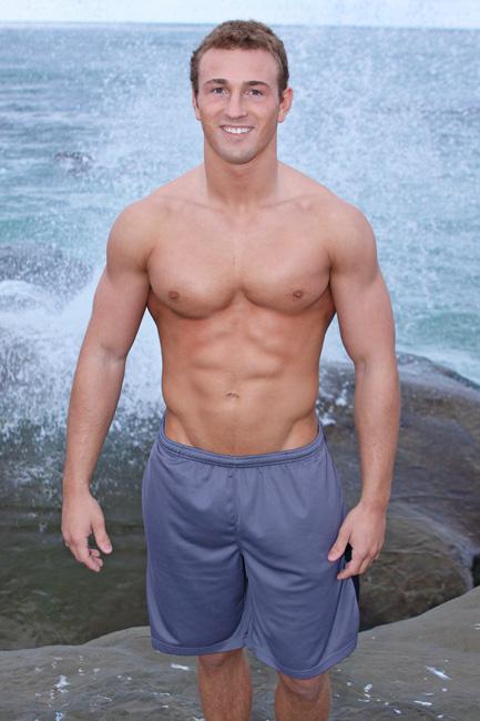 Beautiful blond russian male gay