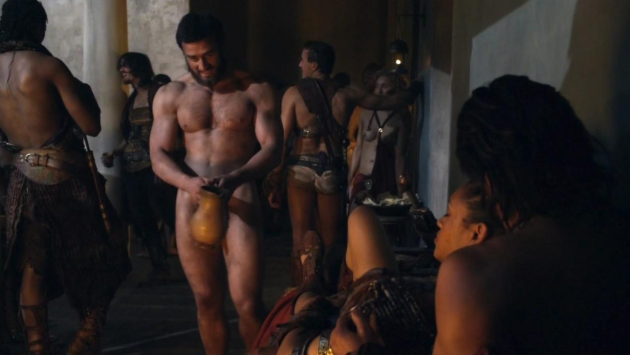 nude spartacus gay