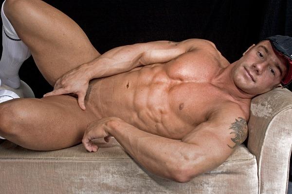 Allamerican Guys Kent Slugger nude naked