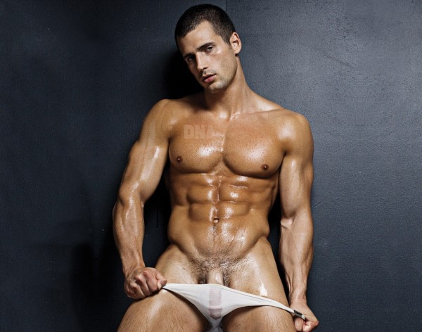 Male model Todd Sanfield DNA Magazine 130 nude naked penis