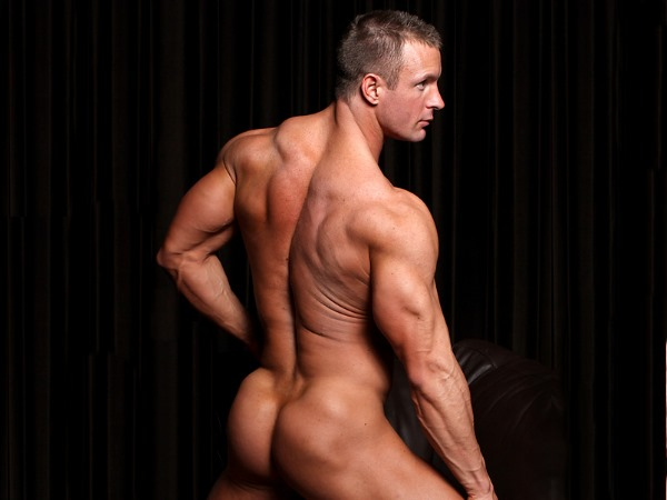 TJ Cummings nude for MuscleHunks