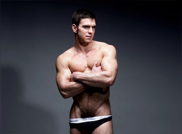 Male model Patrick O'Brien for Randy Blue