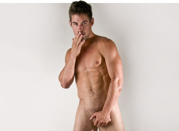 Full frontal naked male