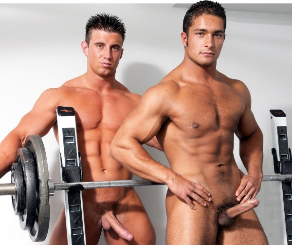 MEN.com bodybuilders Tyler St. James and Dereck Fox