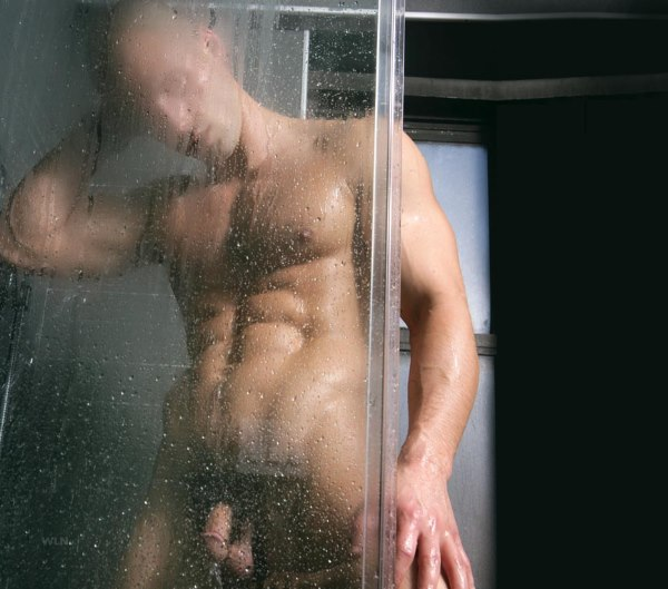 Male model Todd Sanfield full-frontal by Joe Oppedisano