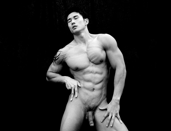 Hot naked male asians