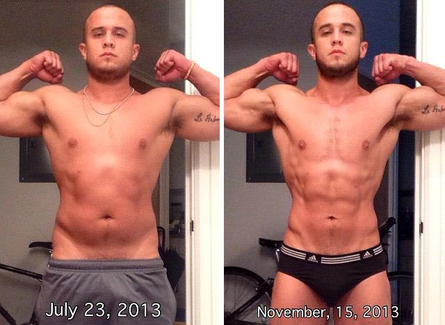 Alex Graham weight loss transformation
