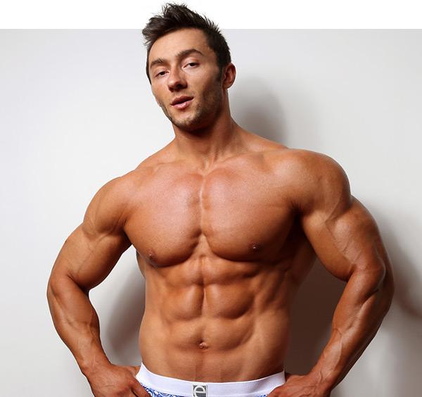 bodybuilder Chris Bortone nude naked