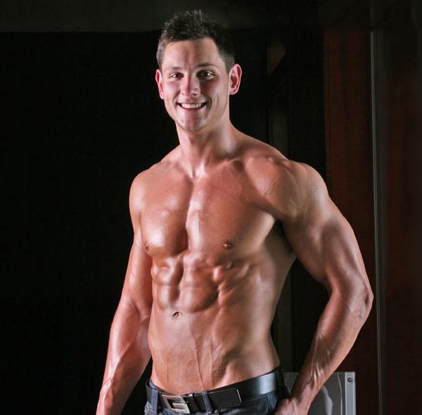 Male nude naked model Dyson Parker for LegendMen