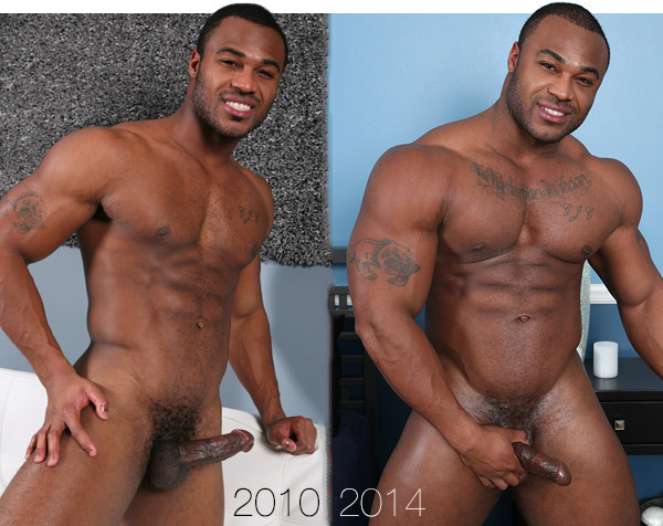 black bodybuilder Prentice by ChaosMen