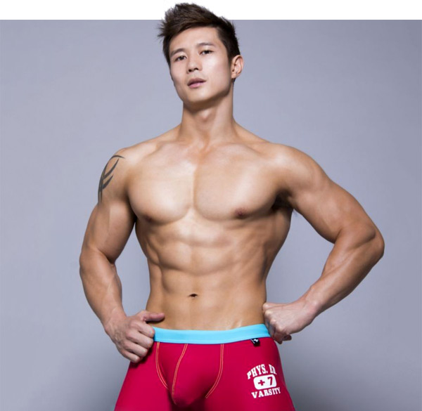 Korean Male Model Porn - asian male model peter le andrew christian underwear