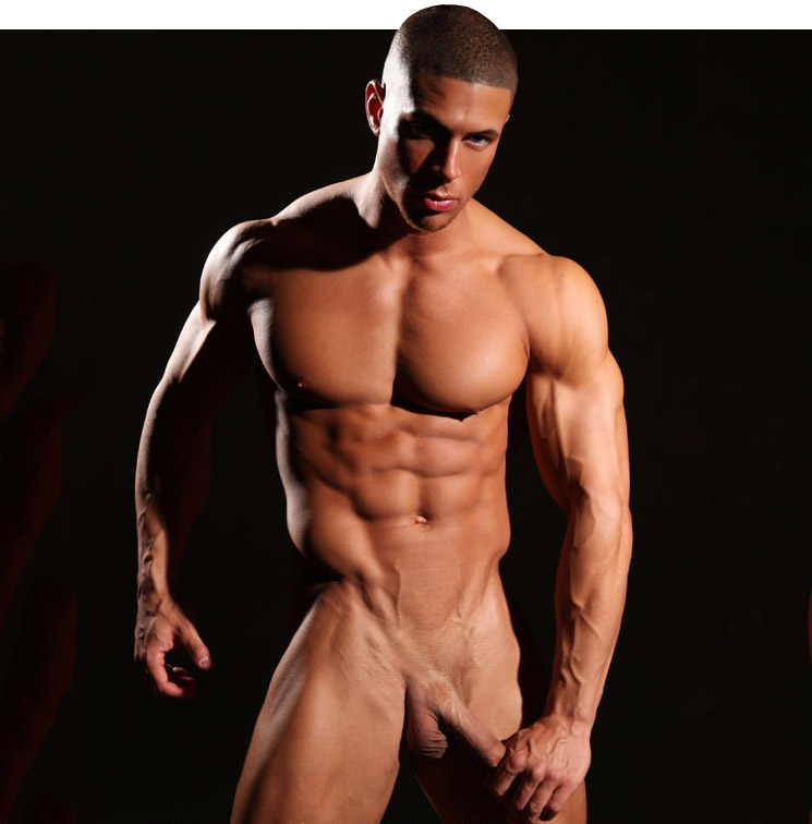 Black gay nude models