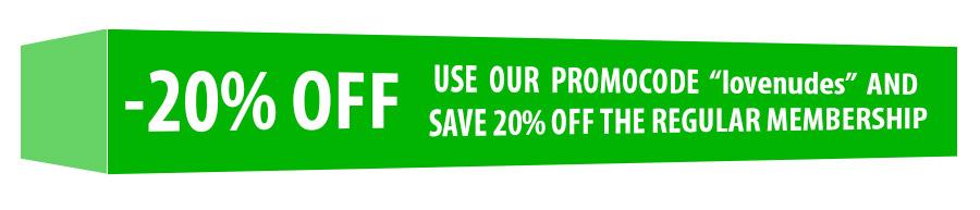 - 20% OFF the regular membership price!