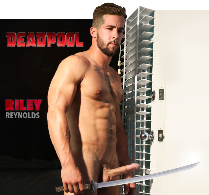 deadpool riley ryan reynolds nude naked full frontal penis