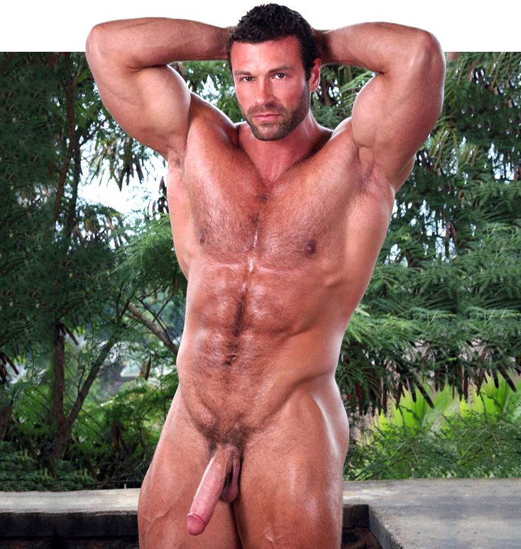 legend muscle man naked Von