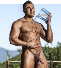 Bodybuilder Brock Magnus Makes His Debut At LucasEntertainment