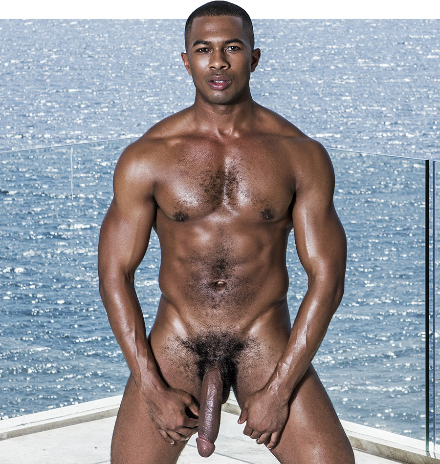 All exposed black men nude