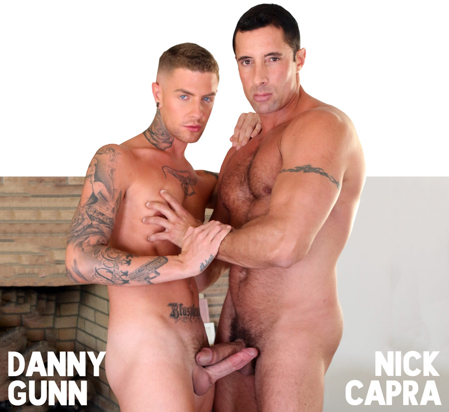 Muscle Daddy Nick Capra and danny gunn
