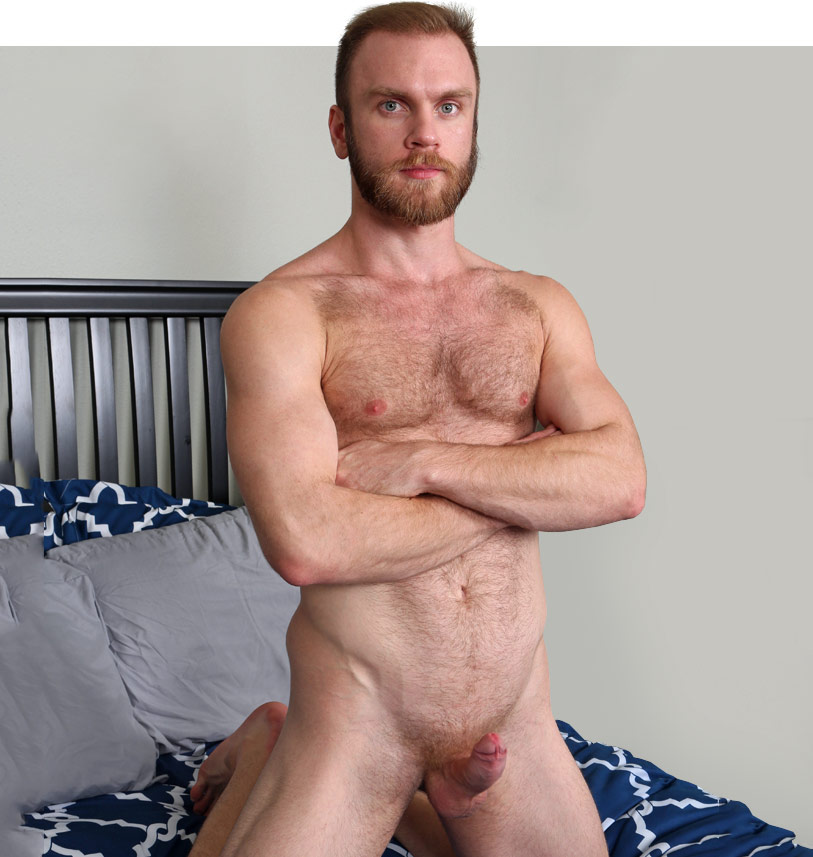 Mature hairy man likes rimmed 7