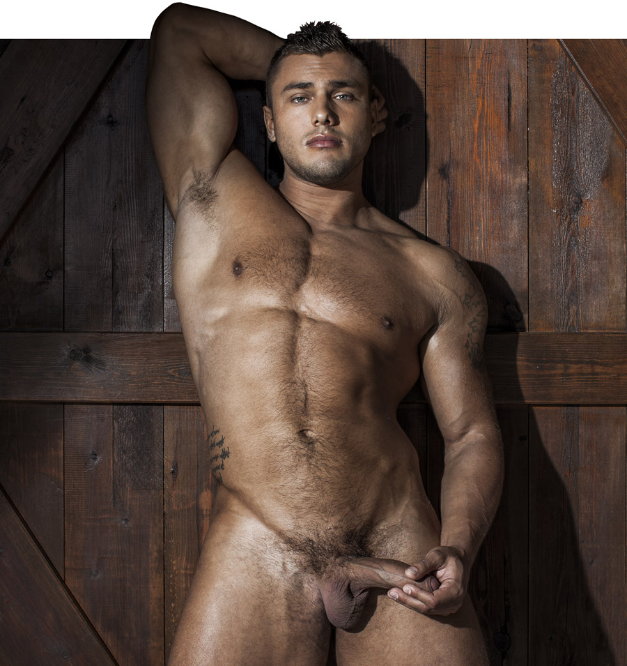 gay bodybuilder Brock Magnus LucasEntertainment ex