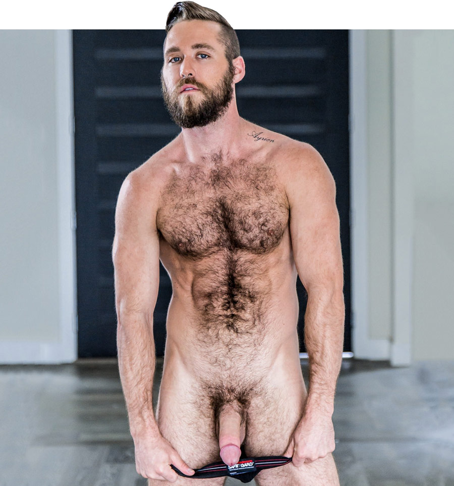 Hairy bearded hung gay men sex photos