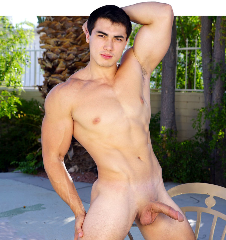 Hot asian muscle hunk final