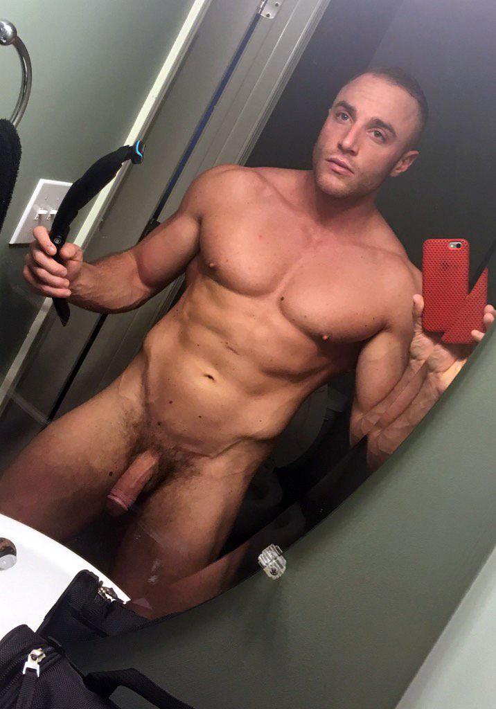 nude male shower selfies
