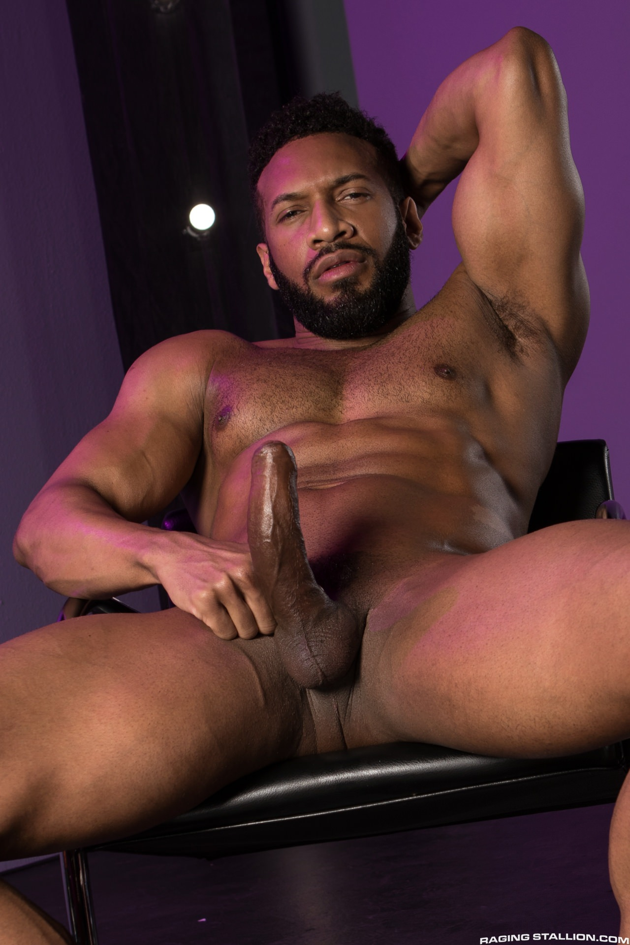 4 Pron Com black muscle hunk jay landford